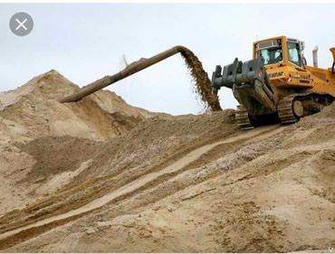Песок доставка ивановский сеянный в Бишкек