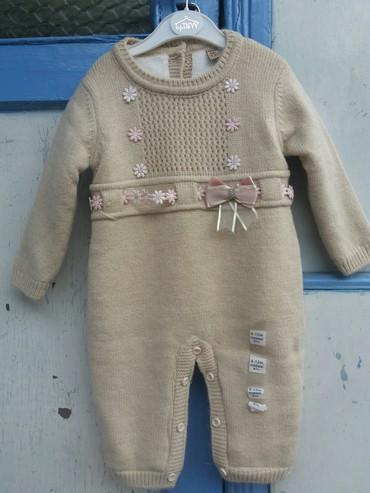 рубашка zara kids в Кыргызстан: Новый комбинезон Verrino kids 9-12 месяцев. Натуральная + акриловая