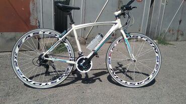 Продам шоссейный велосипед б/у,Beneton, юбилейный выпуск, из