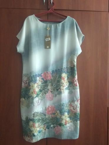 женское платье 54 в Кыргызстан: Платье женское, новое, турецкое 54 размер покупала в Москве размер