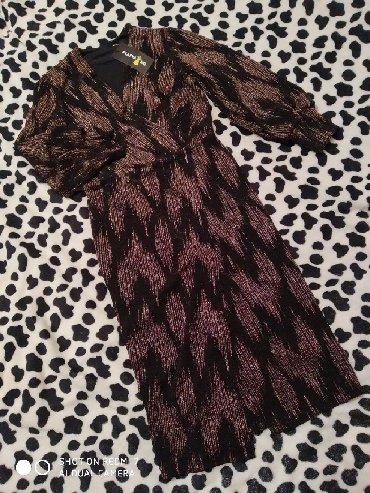 Новое платье на запах, 44 размер, сидит идеально