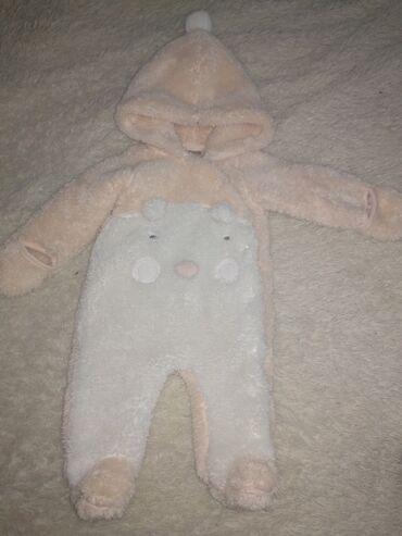 Продается детский комбенизон, цвет персик, мягкий, теплый для ребенка