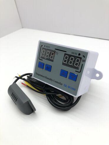 Инкубаторный терморегулятор с датчиком влажности Двойной цифровой