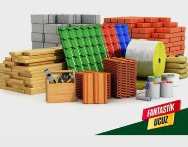 Muasir dam ortukleri - Azərbaycan: Tikinti materiallari satilir klass magazada dam ortukleri ve