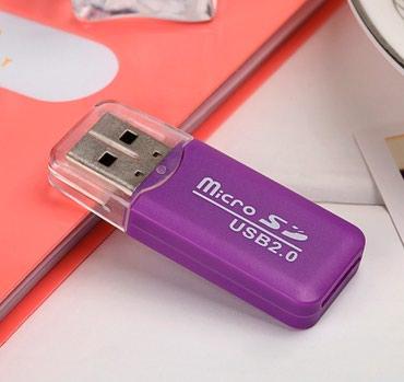 Nov adapter za mikro SD karticu. Ubaci se kartica sa zadnje strane u - Belgrade