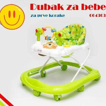 Za prve korake DUBAK ŠETALICA Dubak je podrška detetu u pravljenju