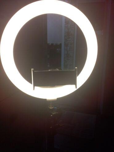 Декор для дома - Кыргызстан: Продаю световую лампуЕсть три освещения,первый это лунный цвет,второй