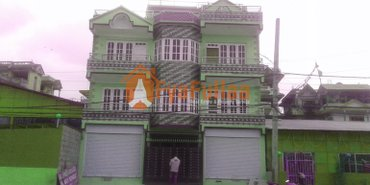 a commercial and built after earthquake house having land area in Kathmandu