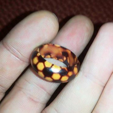 Zenski-elegantan - Srbija: Drveni prsten br 7, prečnik 18. 6 mmlep, elegantan, lagan, ženski