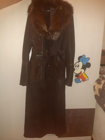 продам пуделя в Кыргызстан: Продам натуральную дублёнку 44-46 размер за счет пояса и на 48