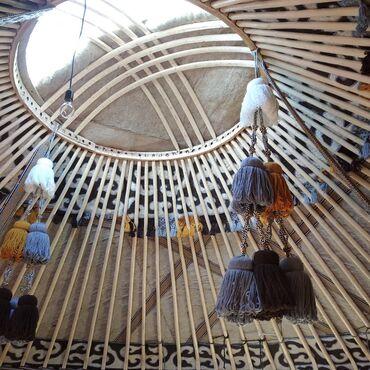 Спорт и хобби - Тамчы: Продается натуральные качественные деревянные кыргызские юрты.Все
