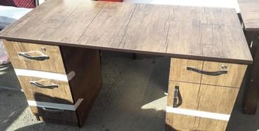 Bakı şəhərində 0fis masasi 120x60 ölçüde,basqala modelleri de var,anbardan