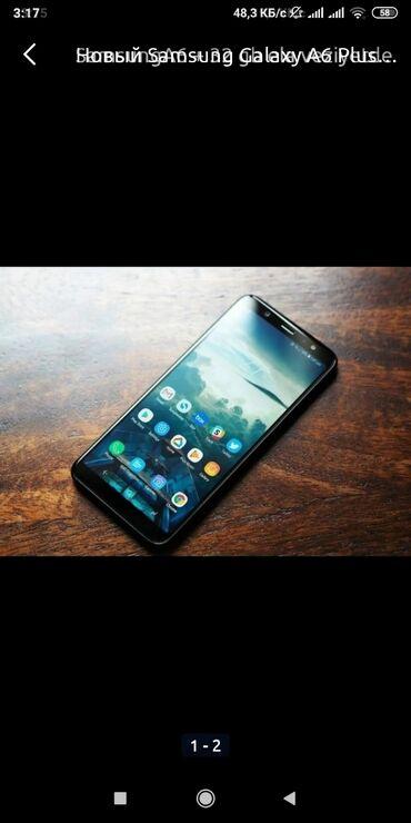 audi a6 3 mt - Azərbaycan: Yeni Samsung Galaxy A6 Plus 32 GB qara