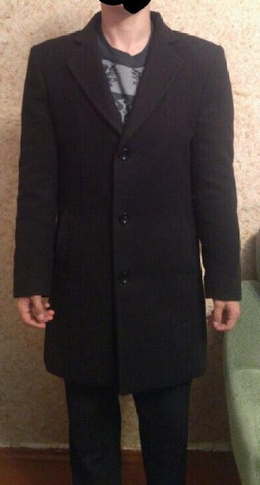 мужское пальто черное в Кыргызстан: Мужские пальто