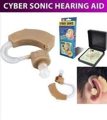 Elektronika - Kursumlija: Slusni aparat Cyber Sonic  Poboljsava do 40% sluha.  Odgovara i za le