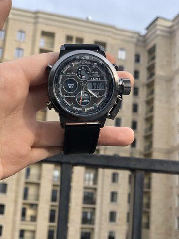 тапки мужские в Кыргызстан: Армейские часы AMST 3003ВодонепроницаемыйКварцевый механизм