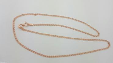 """золотая цепь красное золото 585проба .45 см.плетение """"лав"""" в Бишкек"""