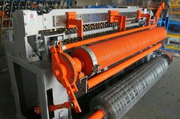 станок для сетки мак в Кыргызстан: Станок для производства сварочной сетки в рулонах