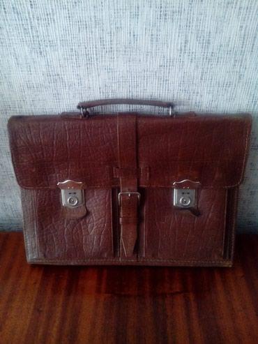 chevrolet ретро в Кыргызстан: Совнаркомовский портфель,чистая кожа,ретро,30-40 годы пр.века