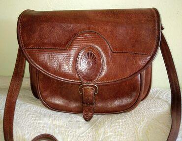 Denis brown - Srbija: Vintage torba od čvrste kože   Fanatasticna braon torba od 100 % čvrst