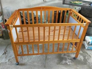 Продаю детскую кроватку, большую ! длинна 132 на 72 см. в Бишкек