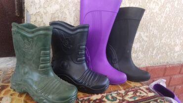 Резиновые сапоги - Кыргызстан: Продаю оптом гелевые, резиновые сапоги дешево!  37-38размеры. В основн