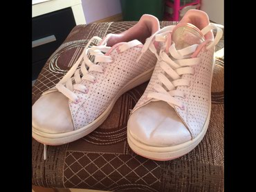 Adidas Stan Smith original, kombinacija koza i saten, velicina 37 1/3 - Novi Sad