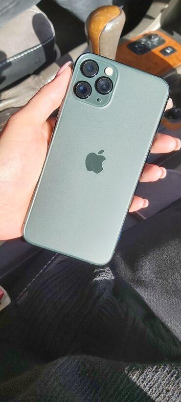 купить бу iphone 11 pro в Кыргызстан: Б/У IPhone 11 Pro 64 ГБ Зеленый