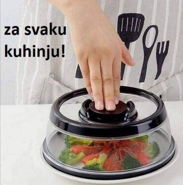 Kuća i bašta - Vladicin Han: Vakum poklopac za čuvanje svežine hrane Super vakum poklopac za
