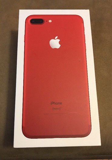 Red Apple iphone 7 plus 32gb / 128gb / 264gb  Kontaktný kontakt na in Bratislava