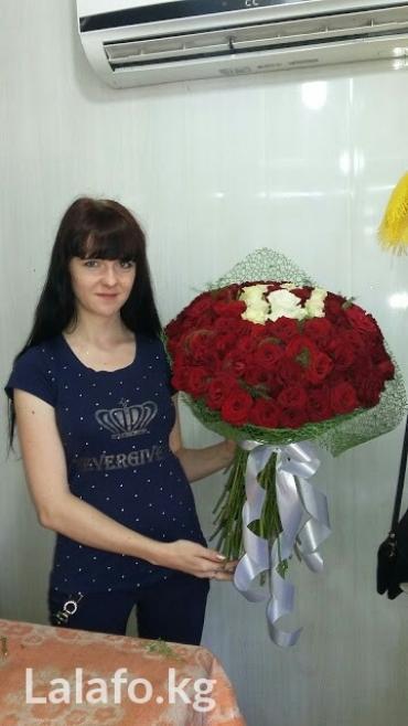 Розы ! по оптовой цене, делаем любые в Бишкек