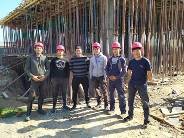 стойки для тельфера в Кыргызстан: Монолитчики оказывают строительные услуги. у нас есть своя