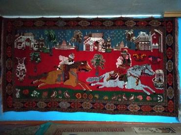 Дом и сад в Шемахы: Şamaxı rayon Qızmeydan kəndində qədimi xalça satılır.Xalçanı eni 1.85