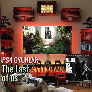 Gəncə traktor zavodu - Azərbaycan: 🎮 Ps4 - The last us☀️ Günü: 1️⃣ AZN💫 Müddət: 5️⃣ Gündən az olmayaraq📝