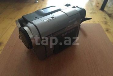 Gəncə şəhərində Video kamera. Çox az istifadə olunub işlək vəziyyətdədir.
