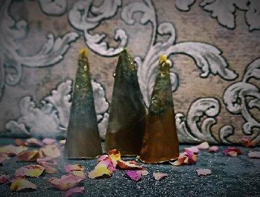 Свечи - Кыргызстан: Ведьмины свечи Свечи из чистого воска с добавлением трав. Свечи по
