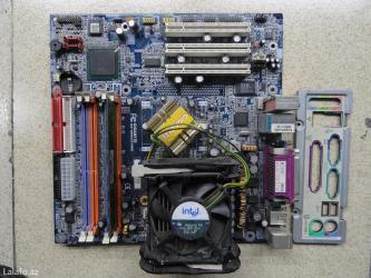 Gigabyte ga-8i865gvmk - motherboard  intel celeron 2,40ghz  256mb ram