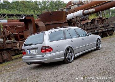 задние фары мерседес w210 в Кыргызстан: Mercedes-Benz E-класс AMG 4.3 л. 2001