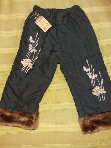 Продаю новые зимние штанишки на девочку 1-1,5 года. 200 сомов.т. в Кок-Ой