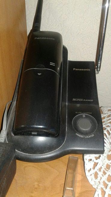 микрофон-за-телефон-цена в Кыргызстан: Радиотелефон (panasonic, рабочий, западают некоторые кнопки), отдам за