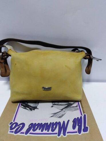 MANUAL kožna torbica,prirodna vrhunska kvalitetna 100%koža,zatvara se