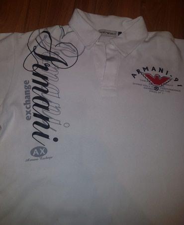 Majica emporio armani - Srbija: Emporio Armani - armani exchange muska majica m-l.pazuh 56cm, ramena