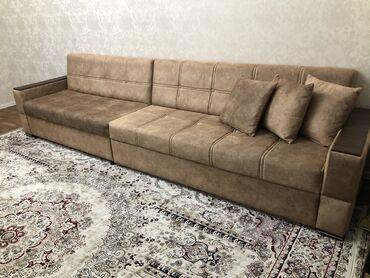 Диваны в Кыргызстан: ПРОДАЮ ДИВАНДлина диван — 3,5 м; Ширина — 90 см; В раскладном виде —
