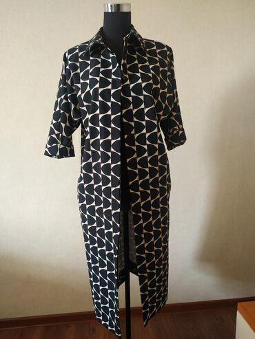 платья свободного кроя для полных в Кыргызстан: Платье производство Турция . Будет уступка