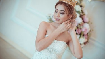 Диадема ручной работы для невест и в Бишкек