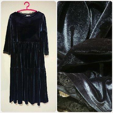 платье в стиле бохо большого размера в Кыргызстан: Платье в стиле бохо!   Размер 48-50, с двумя карманами!   Состояние ид