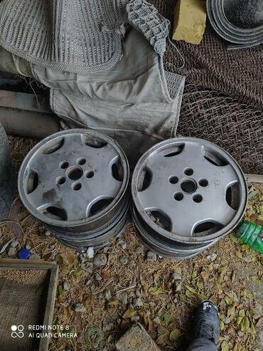 Продаю диски в комплекте на ауди с 4 с4 А6 на R15 в комплекте 4000