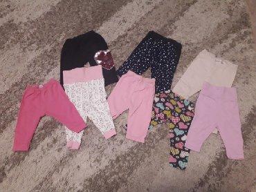 Kompletna garderoba za bebu devojcicu od 0-9 meseci. Stvari potpuno o