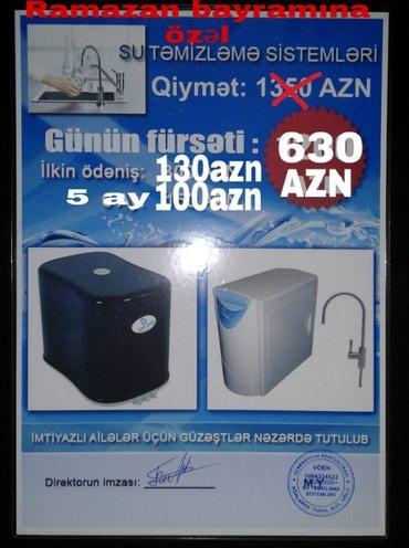 Bakı şəhərində Su filtirleri