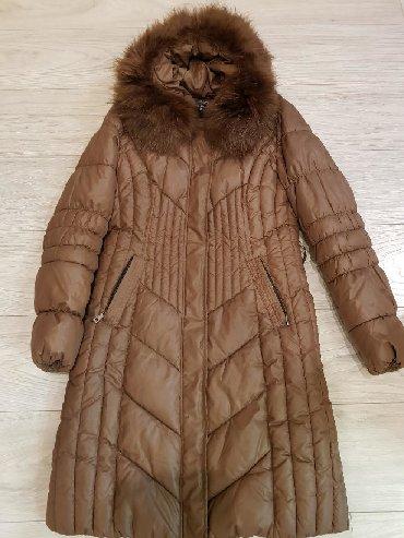 стильную зимнюю куртку в Кыргызстан: Продаю куртку зимнюю женскую, размер 50